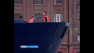 В Калининградском морском порту появится 80-тонный кран