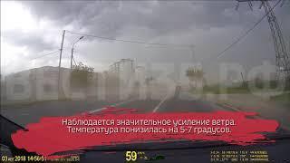 Дожди и грозы пришли в Вологодскую область