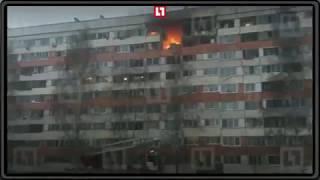 На месте взрыва в многоэтажке Санкт-Петербурга