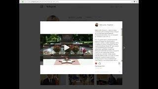 Сегодня глава КБР Ю. Коков в Instagram опубликовал запись, посвященную Дню памяти и скорби.