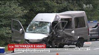 Одна людина загинула, семеро травмовані унаслідок ДТП поблизу Вінниці