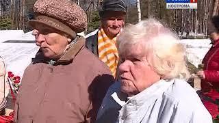 В Костроме прошла акция, посвящённая Дню освобождения узников фашистских лагерей