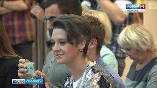 В Смоленске прошел модный показ Елены Верневой