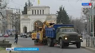 Города Ставрополья получат новую коммунальную технику