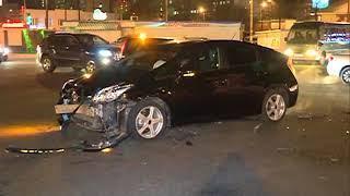 В серьёзном ДТП пострадали два авто