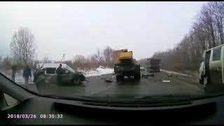 жуткая авария под Ракитным