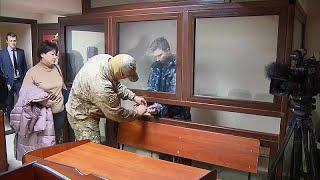Украинским морякам предъявили обвинения