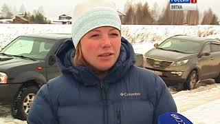 Жители деревни Русское опасаются, что могут лишиться единственной дороги к дому (ГТРК Вятка)