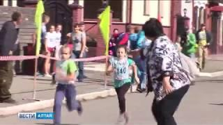 «Кросс нации» проходит в Барнауле