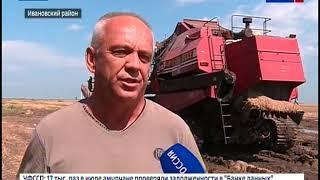 Уборка ячменя в амурских хозяйствах проходит в тяжелых условиях
