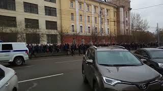 несанкционированный митинг (Красноярск)