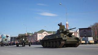 Раритетная техника проедет по улицам Ханты-Мансийска