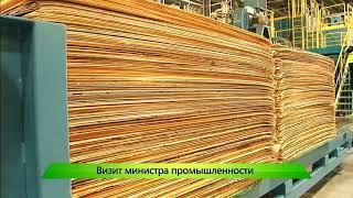ИКГ Министр промышленности на фанерном заводе #2