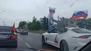 Автопробег имени Героя Советского Союза Ивана Щипакина стартовал в Ставрополе2