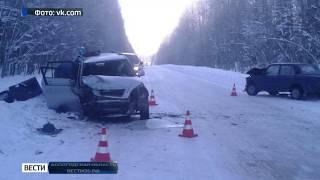 В аварии в Бабаевском районе пострадали 6 человек
