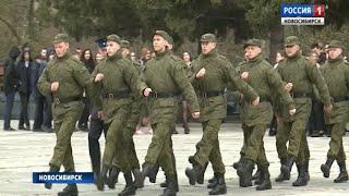 Две тысячи новосибирцев отправили на срочную службу в армию