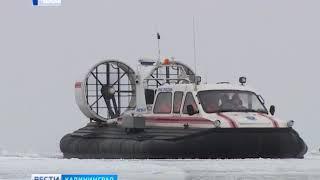 Стали известны подробности об ушедшей под лёд «Оки» в Куршском заливе