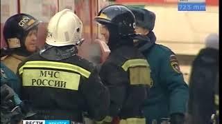 Женщине стало плохо при виде пожара в иркутском ТЮЗе