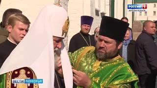 Завершается визит Патриарха Московского и Всея Руси Кирилла в Поморье