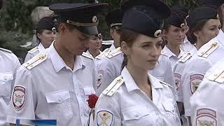 В Ростове выпускников учреждений МВД посвятили в работники органов внутренних дел