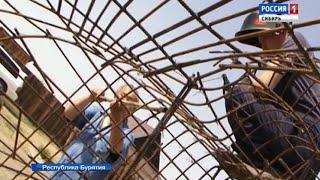 В Бурятии начались работы по созданию гигантской статуи четырехрукого Будды сострадания