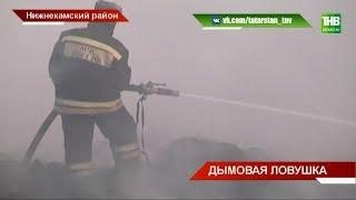 Осложняется ситуация на свалке шин у села Прости Нижнекамского района | ТНВ