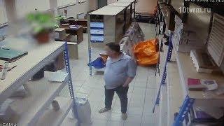 Кража в почтовом отделении Саранска