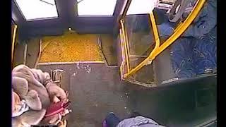 Пассажир упал в автобусе из-за ДТП