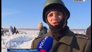 Реконструкторы повторили подвиг Александра Матросова