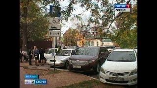 В Адыгее провели рейд по соблюдению правил парковки на местах для инвалидов
