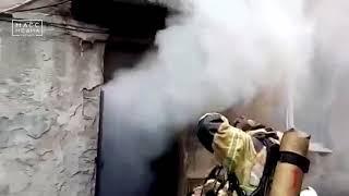 Четырех человек спасли из огня пожарные в Петропавловске | Новости сегодня | Происшествия