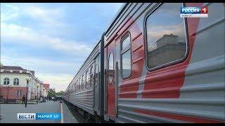 В составе поезда «Йошкар-Ола – Москва» появятся новые плацкартные вагоны