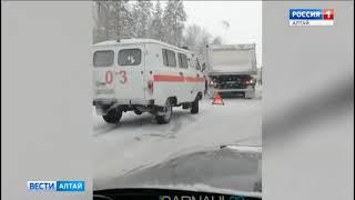 Массовое ДТП в Тальменском районе. Есть погибшие