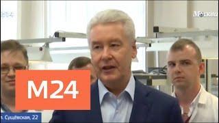 Собянин посетил НИИ автоматики имени Н. Л. Духова - Москва 24