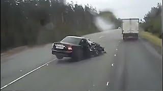 Придурки за рулем #89  неожиданные ДТП  непредвиденные ситуации  Злой Йожык TV
