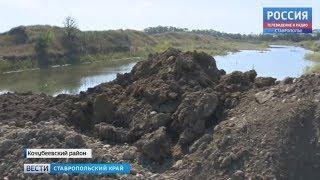Незаконные раскопки карьера в Барсуковской продолжаются