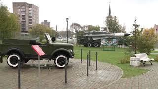 В Парке Победы в Череповце появился новый экспонат