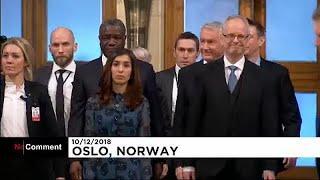 Нобелевская премия Мира: в Осло чествуют лауреатов