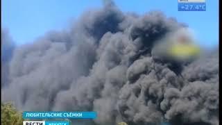 Четыре часа тушили пожар на ЛПК в Усть Илимске