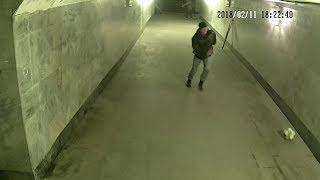 В подземном переходе Краснодара инвалиды сыграли футбол