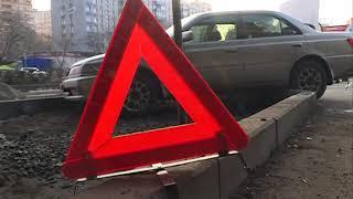 Бешеная скорость стала причиной ДТП под Некрасовским путепроводом