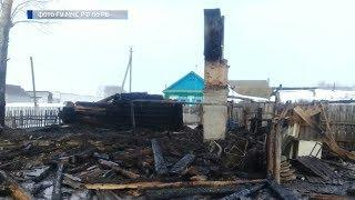 В Башкирии при пожаре погибли двое мужчин