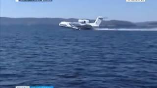 Учения МЧС: спецборт срочно вылетел на Красноярское море