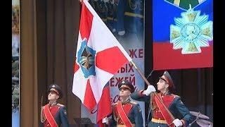 Личному составу Южного военного округа представили боевое знамя нового образца