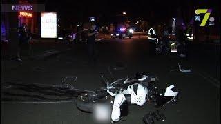 ДТП на Екатерининской: байкер сбил двух пешеходов. Подробности