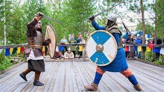 Лангепас на пару дней превратился в средневековый город