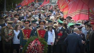 В Волгограде начались мероприятия в честь 73-й годовщины Великой Победы над фашистской Германией