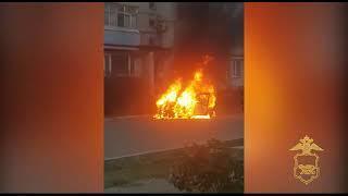 Ревнивый житель Уссурийска сжег автомобиль своей знакомой