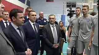 Губернатор Дмитрий Миронов передал волейбольному клубу «Ярославич» новый комфортабельный автобус