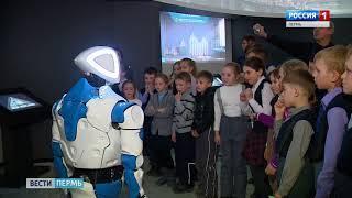 В историческом парке новый сотрудник - робот-экскурсовод
